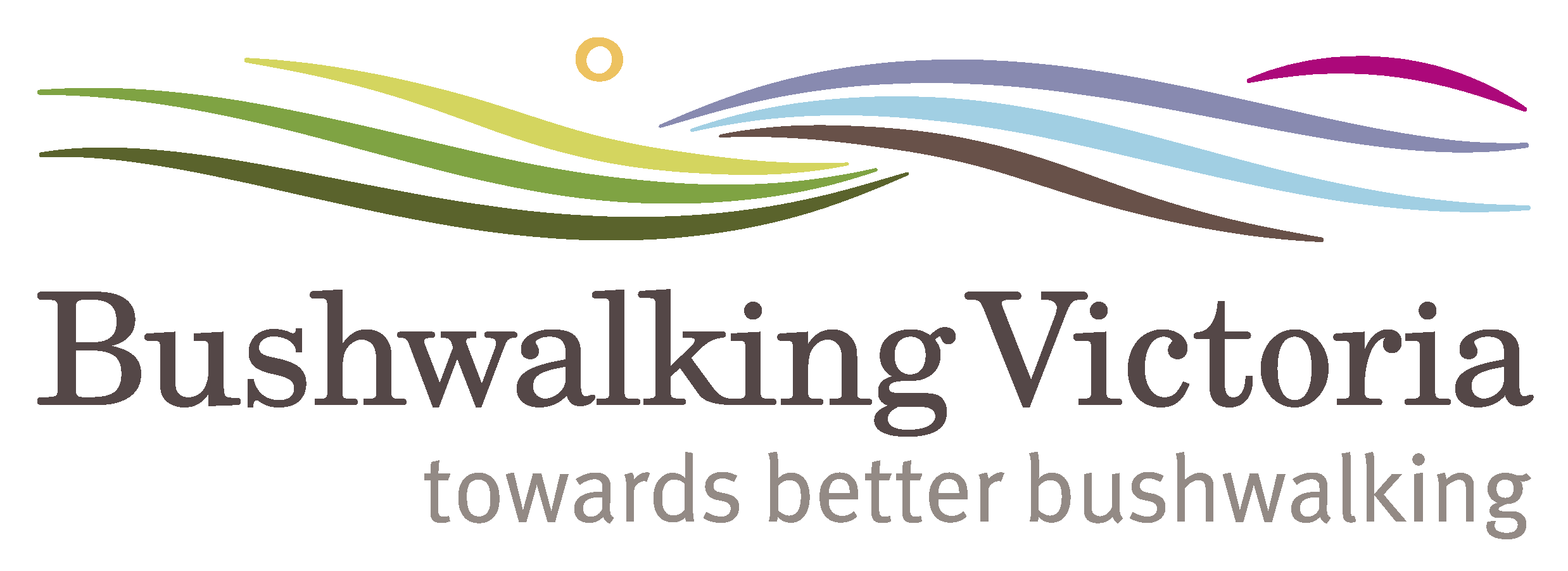Bushwalking Vic logo with tagline 2 for websites 1